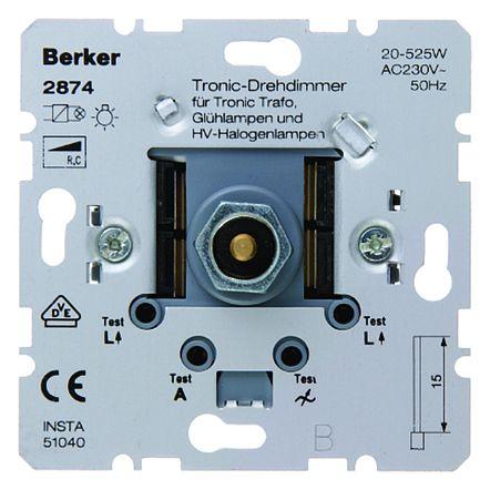 BERKER Tronic-DREHDIMMER 20-525W/VA
